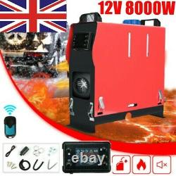 12V 8KW Air Diesel Night Heater LCD Display 8000W for Car Truck Motor-Home KIT