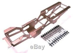 12pcs Aluminum Oil Dampers with 6x6 Chassis kit for TAMIYA Clod buster/bullhead