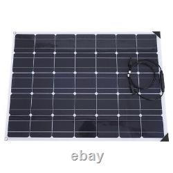 150W 12V Flexible Solar Panel Kit Battery Charger 20A Controller for Car RV Boat