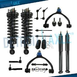 18pc Front Strut Rear Shock Upper Control Arm Kit for 2003-2011 Lincoln Town Car