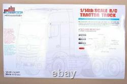 1/14 For Tamiya RC Tractor Truck Car Triaxial TRAILER ScaleHauler Assembly Kit