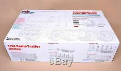 1/14 ScaleHauler Assembly Kit For Tamiya RC Tractor Truck Car Triaxial TRAILER