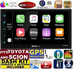 2000-2015 For Toyota & Scion Navigation Apple Carplay Android Auto Car Stereo