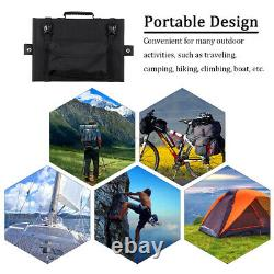 300W Sunpower Foldable Solar Panel Charger kit For Outdoor Camping Car Boat RV