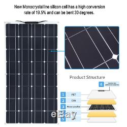 400W 2200W flexible Solar Panel system Kits for Home Boat Camping Car(EU stock)