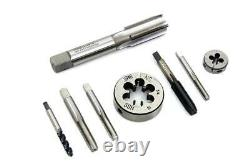 8 pc. Die Tool and Tap Set Kit for Harley Servi-Car, Knuckle, Pan, Shovel, Flat