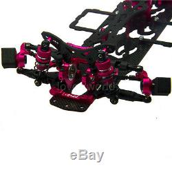Alloy & Carbon 110 2WD Version RC Drift Car Frame Kit For Racing Sakura D4 RWD