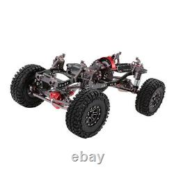 Aluminum Alloy RC Rock Crawler Chassis Frame Kit for 1/10 Axial SCX10 4WD Car