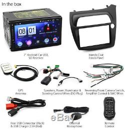 Android Car MP3 Player For Honda Civic Hatch FK FN Stereo Radio GPS Fascia Kit G