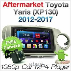 Android Car MP3 Player For Toyota Yaris 2012-2017 Stereo Radio GPS Fascia Kit 2G