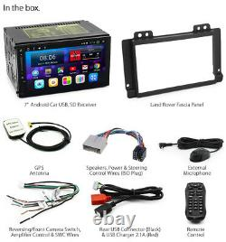 Android Car Player For Land Rover Freelander 1 MP3 Stereo Radio Fascia Kit 04-07