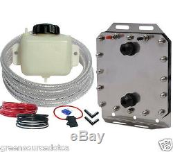 Better Fuel Hydrogen HHO generator kit for cars, dry cell, installation video