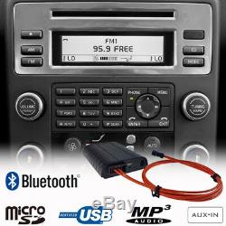 Bluetooth A2DP Handsfree USB SD AUX MP3 Adapter For Volvo V70 S80 Car Kit