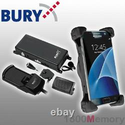 Bury System 8 Bluetooth Hands-Free Car Kit USB C for Samsung Galaxy S8 S9 S10 5G