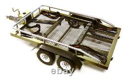 C27733GUN Flatbed Dual Axle Car Trailer Kit for 1/10 Scale RC 580x320x110mm
