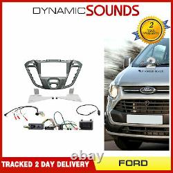 CTKFD42 Car Stereo Double Din Fitting Kit Nebular Piano For Ford Transit Custom