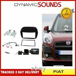 CTKFT11 Double Din Car Stereo Fascia Fitting Kit For Fiat Doblo, Vauxhall Combo