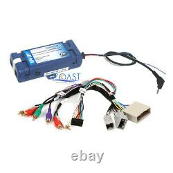 Car Radio Stereo Silver Dash Kit Amp Harness for 2010-12 Ford Fusion Mercury