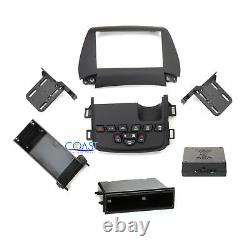 Car Stereo Single Double Din Dash Kit with Harness for 2011-Up Dodge Journey