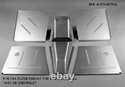 Chevy Car Front Floor Pan Kit For Stock Firewall 1937-1939 EMS# 145