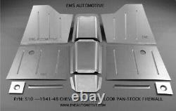 Chevy Car Front Floor Pan Kit for Stock Firewall 1941-1948 EMS #510