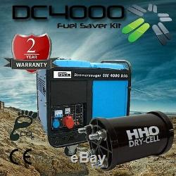DC4000C Dry Cell HHO Kit for cars, vans, tractors, boats, generators 4.2 5.5L