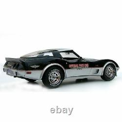 Decal Stripe Indy Pace Car Silver & Red Graphics Kit 15 for 78 Chevy Corvette