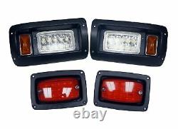 Deluxe LED Light Kit for Club Car DS Golf Carts 1982+