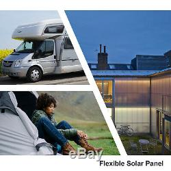 ECO 150W Flexible Poly Solar Panel Kit 20A Controller for RV Boat Car Yacht Van