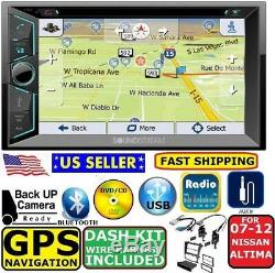 FOR / FITS ALTIMA 07 08 09 10 11 12 NAVIGATION CD/DVD BLUETOOTH Car Stereo Radio