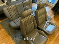 Factory grey leather interior for Rover 100 & Metro 111 114 kit car