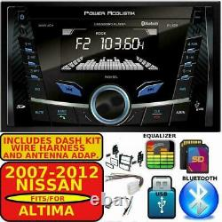 Fits Select 2007-2012 Nissan Altima Bluetooth Usb Aux Sd Mp3 Car Radio Stereo