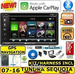 For 07-16 Tundra-sequoia Gps Navigation System Bluetooth Cd/dvd Car Radio Stereo