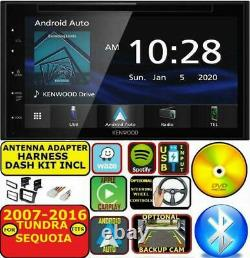 For 07-16 Tundra-sequoia Jvc Kenwood Navigation Carplay Android Auto CD Stereo