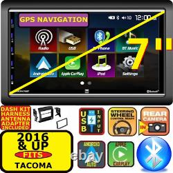 For 2016 & Up Tacoma Apple Carplay Android Auto Bluetooth Touchscreen Package