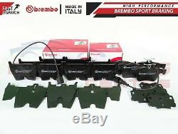 For Audi Rs3 Tt Rs 2.5 2015- Front & Rear Genuine Brembo Brake Pads Pad Set