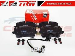 For Audi Rs4 Rs5 R8 Fsi Spyder Quattro 4.2 5.2 Front Rear Brake Pads Genuine Trw