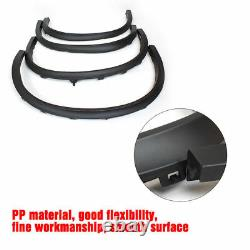 For BMW X5 F15 Wheel Arch Fender Flares 4PCS Black Cover Trims 2014 -2016