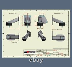 Ford Mazda NC MZR 1.8 2.0 2.3 DURATEC Engine Mounts for Kit Car