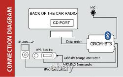 GROM Bluetooth Adapter Car Kit for select Lexus 2001-2004, aux capable #TOYLB3