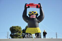 Giant Gorilla Inflatable Kit for Car Lots and Dealerships 20' Inflatable Huge