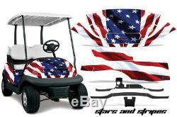 Golf Cart Graphics Kit Decal Wrap For Club Car Precedent I2 2008-2013 S & S