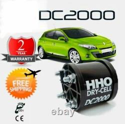 Hydrogen hho kit DC2000 less fuel consumption for cars from 1400cc 2400cc
