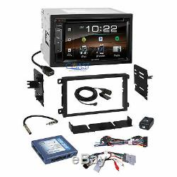 Kenwood Bluetooth SiriusXm Stereo Dash Kit Bose Onstar Harness for GM Chevrolet