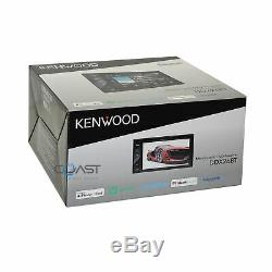 Kenwood DVD Bluetooth Spotify Stereo Dash Kit Harness for 2005-11 Toyota Tacoma
