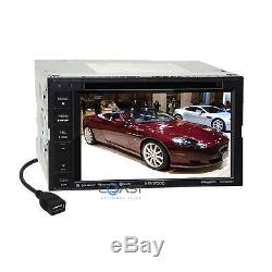Kenwood DVD Sirius Spotify Stereo Dash Kit Harness for 07+ Chrysler Dodge Jeep