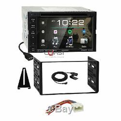 Kenwood DVD USB Spotify Sirius Stereo Dash Kit Harness for Ford Lincoln Mercury
