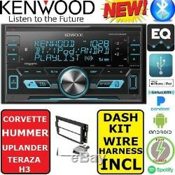 Kenwood For Chevy Corvette Hummer H3 Bluetooth Usb Car Radio Stereo Pkg Opt. XM