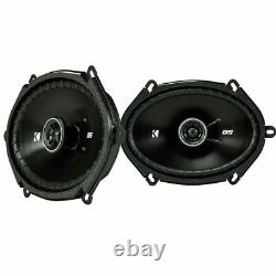 Kicker 6x8 Front+Rear Car Speaker Replacement Kit For 2005-2006 Ford Mustang