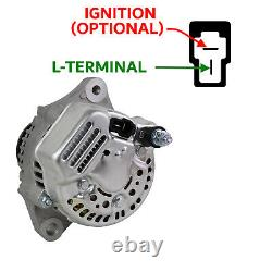 LIGHT WEIGHT 3.2KG 2-PIN ALTERNATOR WITH 7-RIBBED PULLEY 50amp FOR KIT RACE CAR